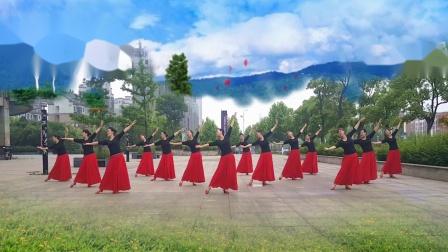 (站着等你三千年)安徽紫金花舞队