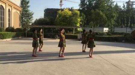清叶舞蹈队《女兵》6人版