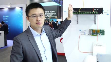 佰才邦展示其用于NR加速和同步的的OpenRAN加速卡