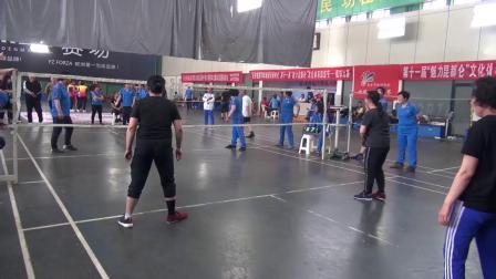 2019年昆都仑区毽球邀请赛精彩视频.1