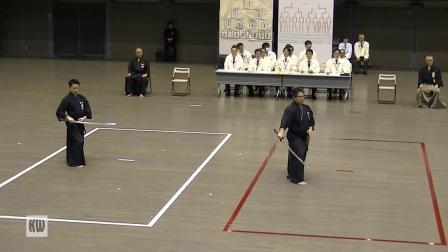 第51回全日本居合道大会六段部决赛