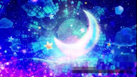 S835 歌曲 小星星 少儿 儿歌 儿童 卡通可爱月亮 节目表演led视频素材