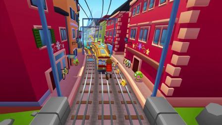 《地铁跑酷》寻回童心,畅玩瑞士苏黎世