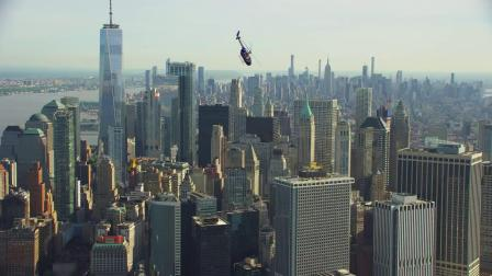 Flying a Helicopter INVERTED over New York City