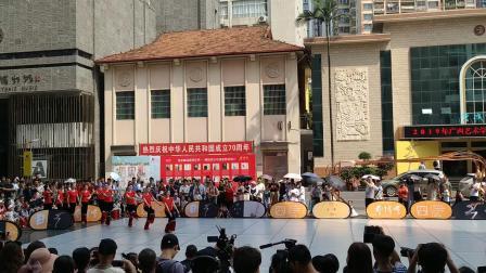 广西艺术学院2019艺博会,彝族啊哩哩组合