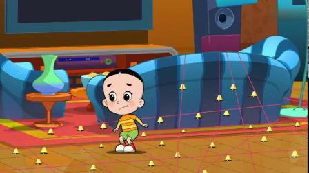 大头儿子害怕去幼儿园,妈妈用玩游戏的方法鼓励他,找回自信