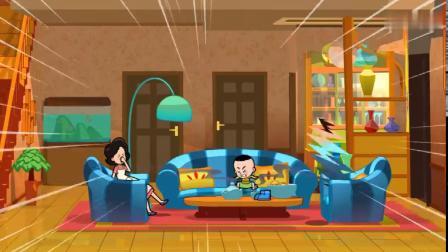 一家人坐在沙发上歇息,一股臭气袭来,原来是从儿子脚上发出来的