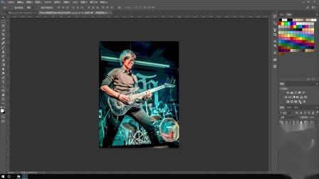 制作摇滚风格照片