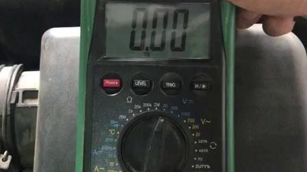 144 大力汽修学院 如何用万用表测量汽车漏电