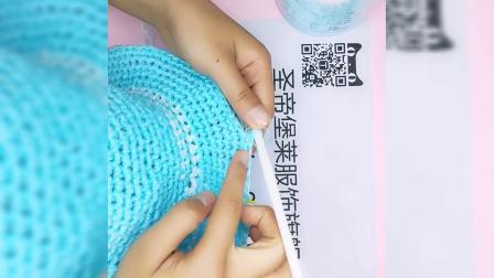 仙女丝带帽子钩针钩法编织视频新手教程