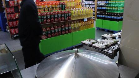 锅贴馒头开进超市!锅蒸馍,蒸烤馍,土匪锅巴,锅贴饼子,锅巴馒头,香锅馍,生煎包,水煎包,米糕,米粑机设备生产厂家哈欧机械