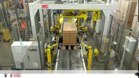 全自动胶膜缠绕包装系统OMC H 含护角放置装置CPA