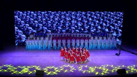 哈尔滨女子舞蹈团,在环球剧场演出,《在灿烂的阳光下》