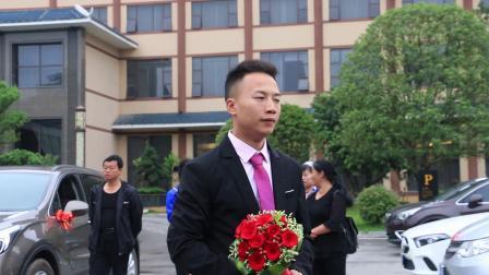 吴龙湘 李晶晶 婚礼  迎亲