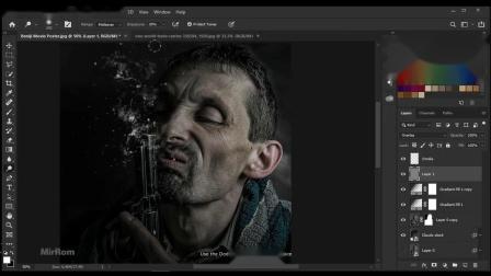 如何在Photoshop CC中创建电影海报组合--果子坤--sockite--联萌后期整理