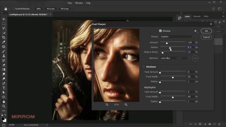 在Photoshop中制作电影海报样式的照片效果--果子坤--sockite--联萌后期整理