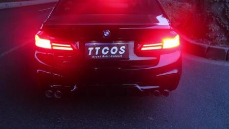 TTCOS阀门排气 宝马新5系中尾段可变阀门排气系统 路测效果