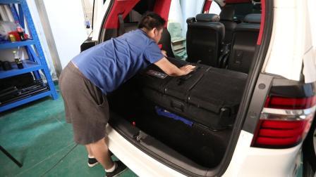 新款 艾力绅  奥德赛  尾箱垫 第三排座椅 升起
