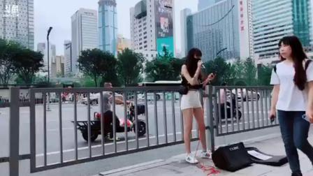 Tay丶璇儿 户外唱《光年之外》20190525