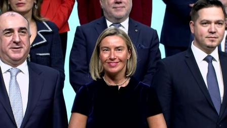 Family photo of the EU Ministers, Eastern Partnership Ministers Foreign Affairs