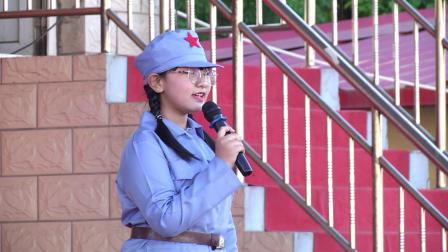 """滦州市第三中学""""重温红色经典  坚定理想信念""""红歌故事会"""