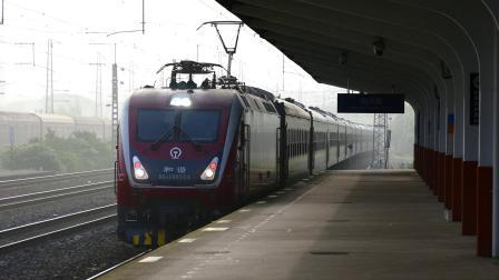 【五一临客】[全列25BG]和谐D1D-0554牵引K5788进绍兴站