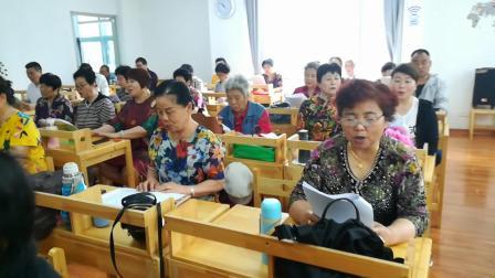 《花桥流水》徐州云龙区老年大学东校区夏老师班级