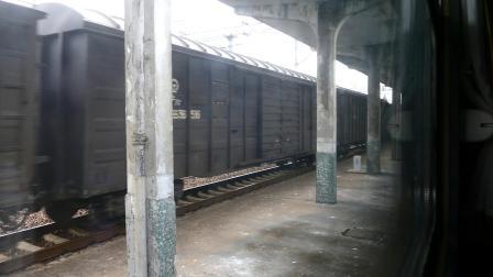 【上局教你如何侮辱一趟客车】电力26626次货物列车斜桥站踩K5788纪实(滑稽)