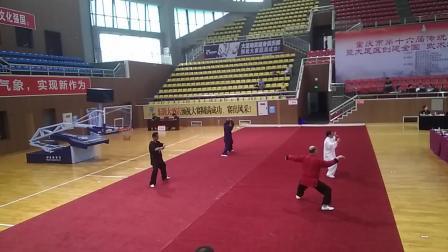 唐华权  重庆市第十六届传统武术精赛  陈式太极拳