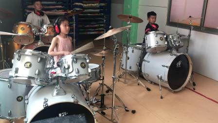桑梓阳光幼儿园架子鼓演奏