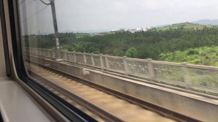 乘坐G1371次列车去凯里南.6(沪昆高铁运转 鹰潭北-南昌西区间)