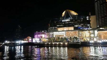 泰国曼谷湄南河夜游醉美风景:地标商场ICONSIAM