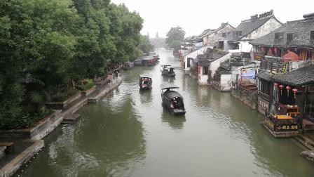 春秋的水 唐宋的镇 明清的建筑 现代的人 —— 浙江西塘古镇