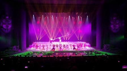 云南丽江金沙丽水大型少数民族舞蹈表演
