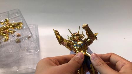 【栩豪玩具】圣衣神话1.0系列巨蟹座迪斯马斯克测评