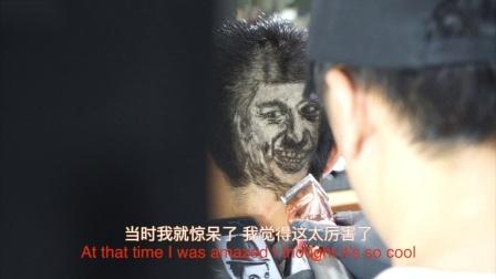 """新昌有位""""桥爷"""",网友称他为""""被理发耽误的艺术家"""""""