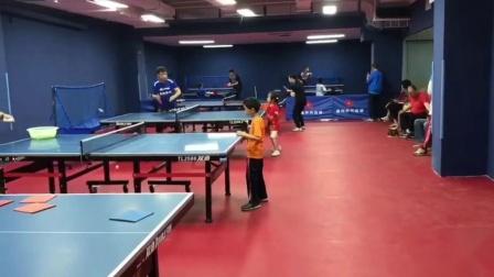 飓风乒乓培训少儿训练