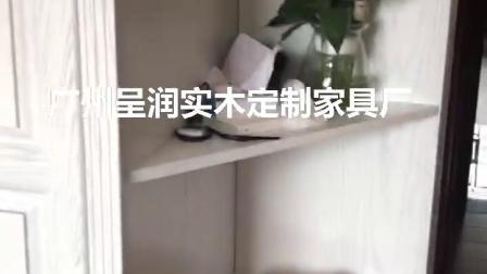 广州呈润全屋定制实木家具厂欧式整体衣柜定制讲解