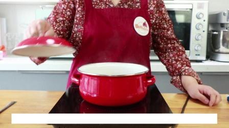 【番小茄Life|一分钟学烘焙】椰汁蜜豆西米糕