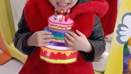 过生日,自己给自己做了个生日蛋糕