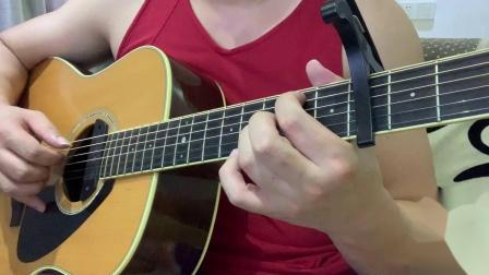 吉他指弹--《孤单心事》