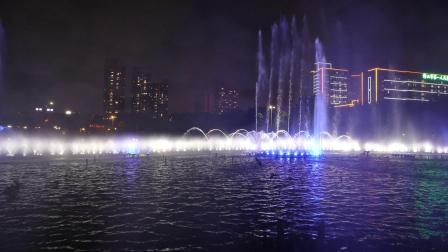 佛山文华公园水舞声光秀2019