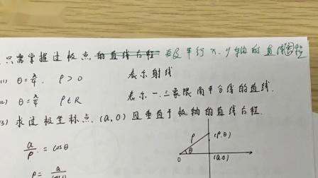 高中数学选修4-4极坐标参数方程数学选修极坐标参数方程视频
