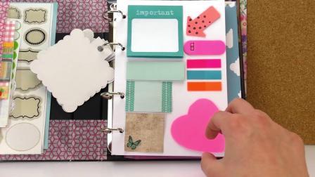 手帐本 DIY自制 彩色 个性创意 纸胶带 画册 日记本 本子 簿子 介绍