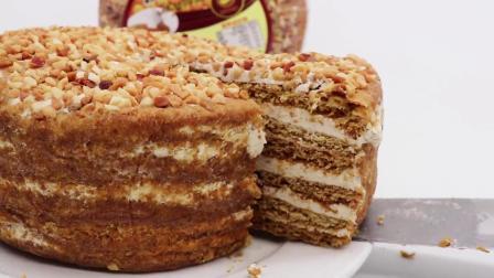 俄罗斯风味提拉米苏蜂蜜奶油蛋糕西式糕点一件代发整箱6个装包邮-淘宝网(1)