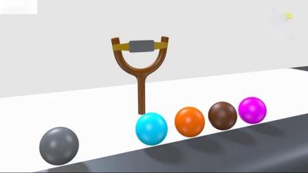 用球学习颜色为幼儿和儿童学习颜色颜色名称3