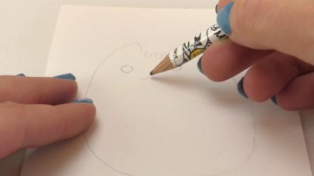DIY 手工 制作 简单 简易 简笔画 可爱 萌 CAT 脸熟 表情包 小猫 Pusheen 彩铅 棒棒糖 宝宝 绘画 画画 填色 水彩 彩绘 自制