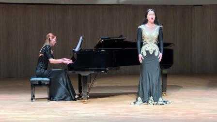 歌剧《托斯卡》选段《为艺术为爱情》 演唱:刘妙妮 钢琴伴奏:安娜斯塔西亚·德年索瓦