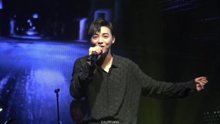 20190525 伍嘉成广州演唱会 「你离开后」