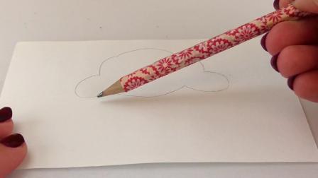 DIY 手工 制作 自制 超级 可爱 简单 简易 绘画 简笔画 彩色 水彩 马芬 纸杯 蛋糕 甜点 糕点 美味 展示
